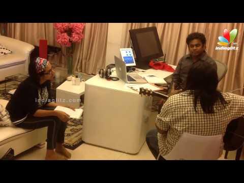 Making of Enga Pona Rasa | Tamil Songs | Mariyaan Song Making | AR.Rahaman, Dhanush