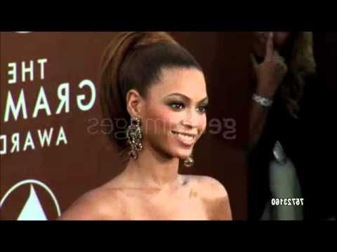 Beyonce Grammy 2006 Red carpet