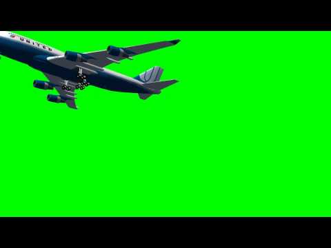 Green Screen Airplane -JSt3yV-XQ_g