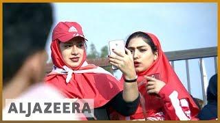 🇮🇷️⚽️Iranian football reaches new heights, female supporters want in l Al Jazeera English - ALJAZEERAENGLISH