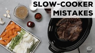 5 Slow-Cooker Mistakes | Food Network - FOODNETWORKTV