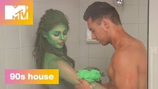 'Sexy Shower Scrub Down' Official Sneak Peek | 90's House | MTV - MTV