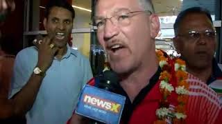 Boxing Coach Santiago Nieva speaks to NewsX on wining gold medals in CWG - NEWSXLIVE