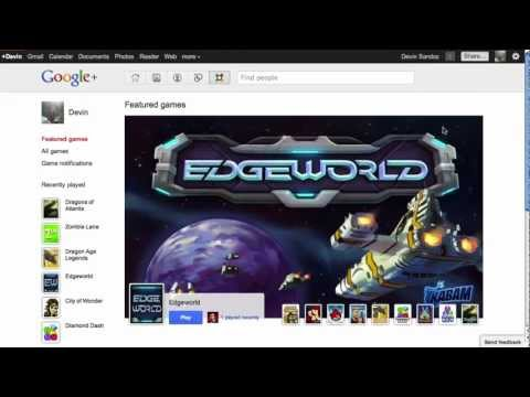 google +Explore Game Video