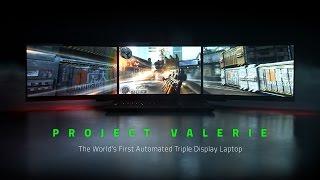 Razer ha creado un portátil con 3 pantallas 4K para jugar