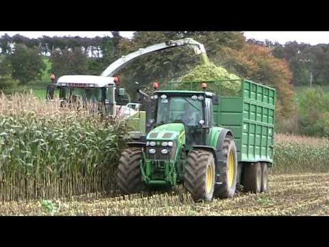 Maize 2010 John Deere 7930 with Claas Jaguar 890 Harvesting-johnwandersonagain