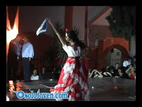 Pasarela Traje Regional  - Aniversario Colegio de Bachilleres Ta
