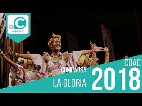 Sesión de Preliminares, la agrupación La gloria actúa hoy en la modalidad de Comparsas.