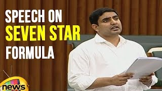 Nara Lokesh delivers speech on Seven Star Formula in AP Assembly | Mango News - MANGONEWS