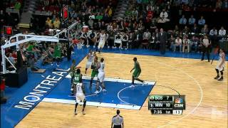 Kevin Love Shows Off His Full Game Against Celtics