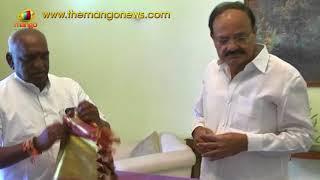 Union Minister Pon Radhakrishnan Meets Vice President Venkaiah Naidu | Mango News - MANGONEWS