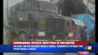 Tral encounter: 1 Officer martyred - TIMESNOWONLINE
