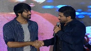 Allu Arjun About Kalyan Dev | Vijetha Success Meet | Allu Arjun - IGTELUGU