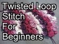 Crochet Twisted Loop Stitch - Crochet Tutorial