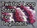 Crochet Twisted Loop Stitch - Crochet Tutorial