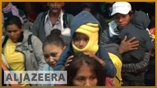 🇲🇽After resting in Mexico City, caravan ready to continue north | Al Jazeera English - ALJAZEERAENGLISH