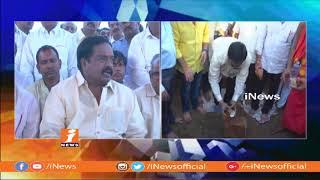Kothapalli Subbarayudu Lays Foundation Stone For Kapu Corporation Bhavan at Eluru | iNews - INEWS