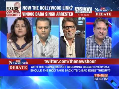 The Newshour Debate: Will Bollywood Links, how big can the IPL Scandal get? (Part 4 of 4)
