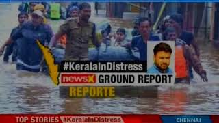 Kerala Floods: Three districts on red alert, Idukki remains cut off for the fourth day - NEWSXLIVE