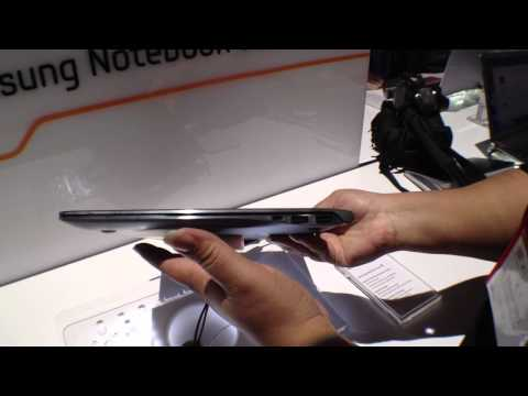 Samsung Series 9 Notebook at CES 2012