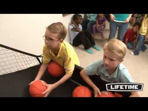 Double Shot  Arcade Style Basketball Hoops Game - Heavy Duty
