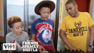 T.I. Busts Domani, King, & Messiah For Losing Major Harris | T.I. & Tiny: The Family Hustle - VH1