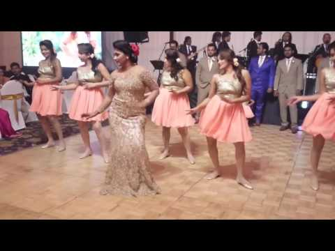 Srimaal Ayachana Surprise Group Wedding Dance Waters Edge