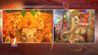 Ganesh Idols Getting Ready For Vinayaka Chavithi Festival In Warangal | iNews - INEWS