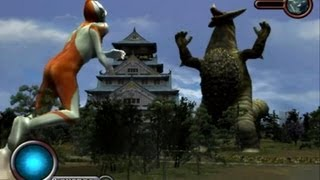 Ultraman PS2 (Story Mode Part 9) Ultraman vs Gomora