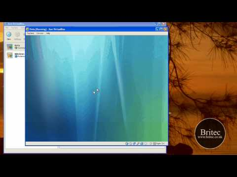 How to Install Windows Vista on Sun Virtualbox by Britec