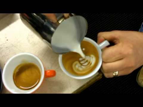 Luciano on How To Pour A Latte Art Rosetta