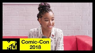 'The Darkest Minds' Cast on the Relevance of the Film & the Vibe on Set | Comic-Con 2018 - MTV