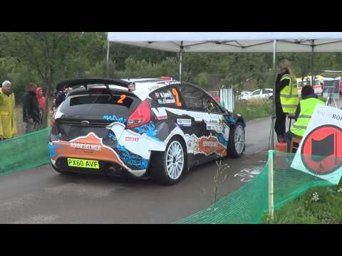 Rally Bohemia 2012  Mads Ostberg Ford Fiesta RRC Shakedown