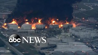 Blaze contained in Texas chemical plant fire - ABCNEWS