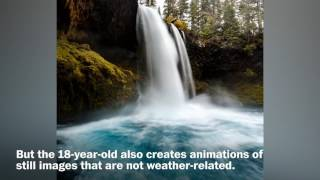Watch: These weather animations are going viral. - WASHINGTONPOST