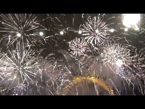 Happy New Year 2012 - Fireworks  @ London Eye  HD