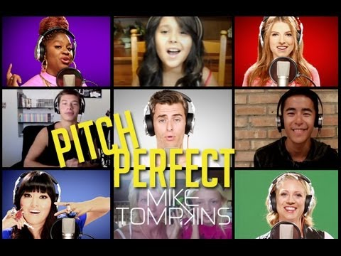 STARSHIPS  - Performed by Mike Tompkins, the PITCH PERFECT Cast and YOU (Nicki Minaj Cover)