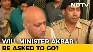 """Statement Later,"" Says #MeToo-Accused MJ Akbar After Landing In Delhi - NDTV"