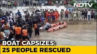 6 Girls, Woman Still Missing After Andhra Boat Capsize, Rescue Ops On - NDTV