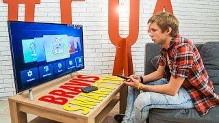 Обзор  смарт телевизоров BRAVIS LED-40D3000 и LED-32D3000 на Android