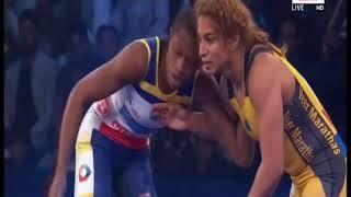 PWL 3 Day 9: Odunayo Adekuoroye VS Marwa Amri Pro Wrestling League at season 3  Full Match - ITVNEWSINDIA