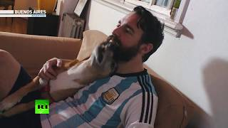 World Cup fans: Argentina - RUSSIATODAY