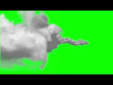 Green Screen Missile Flyby