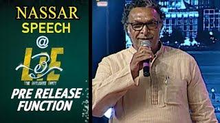 Nassar Speech at #LIE Movie Pre Release Event - Nithiin, Arjun, Megha Akash | Hanu Raghavapudi - 14REELS