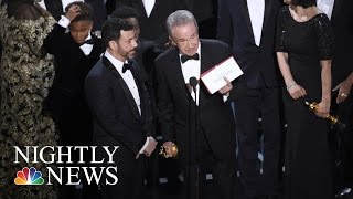 Stunning Oscars Mistake Seen 'Round The World: This Is How It Happened | NBC Nightly News - NBCNEWS