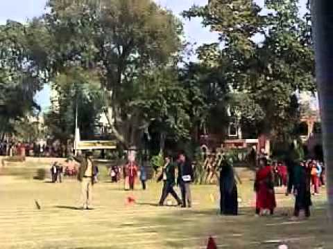 gcu Lahore annual sports 2012 .. female staff race