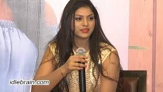 Heroine Aradhya (Anjali sister) press meet - idlebrain.com - IDLEBRAINLIVE