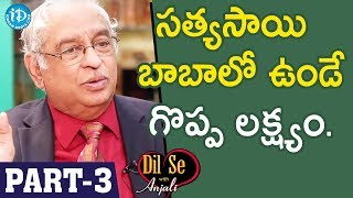 Global Hospitals Director Dr KS Ratnakar Interview - Part #3 || Dil Se With Anjali - IDREAMMOVIES