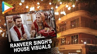 Ranveer Singh's house is decorated in a lavish style as he gets married to Deepika Padukone - HUNGAMA