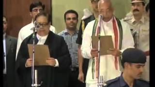27 july 2014 - Governor of India's northern state takes oath - ANIINDIAFILE